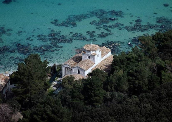 The church of Santa Maria in Portonovo
